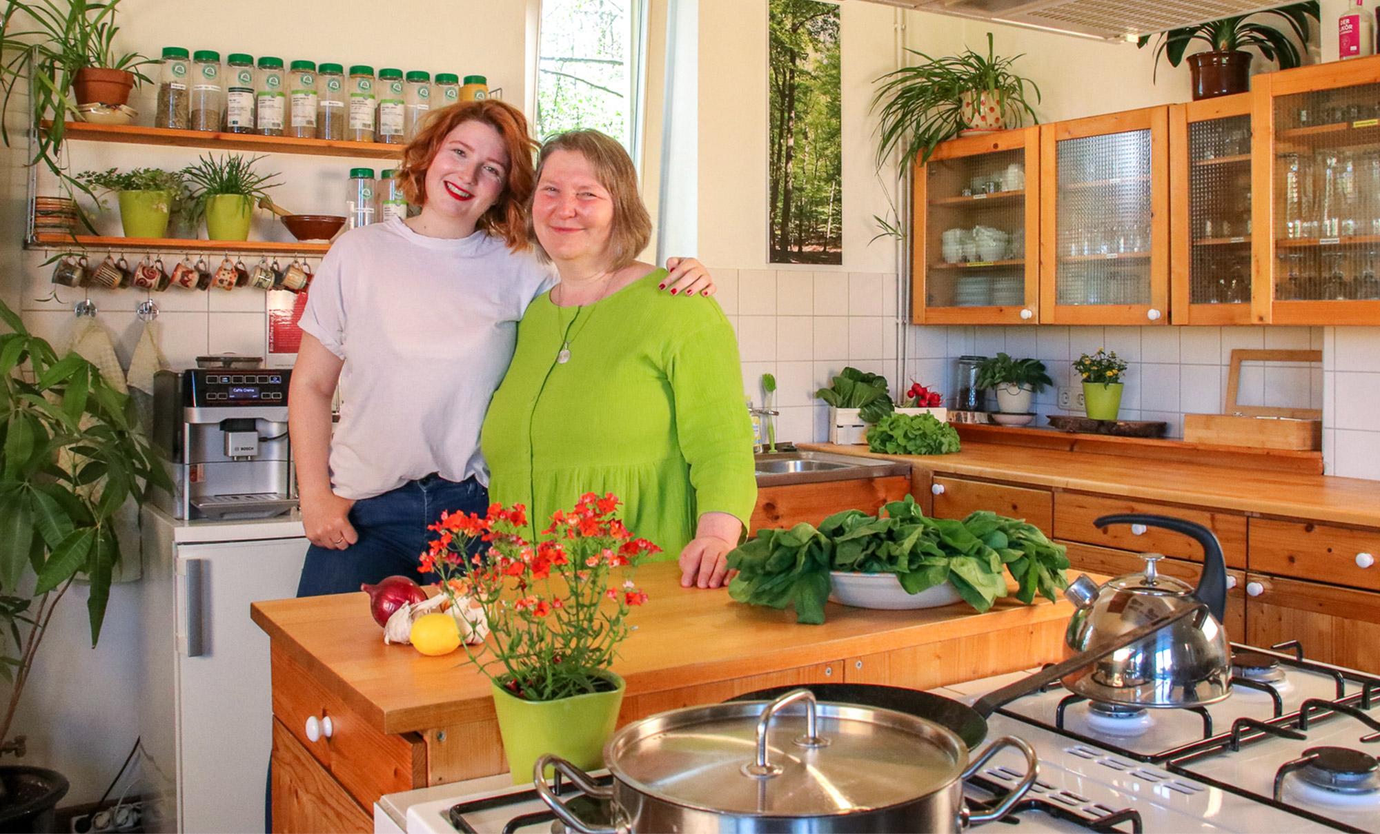 Barbara und Luise vom BIO-Hotel KennersLandLust