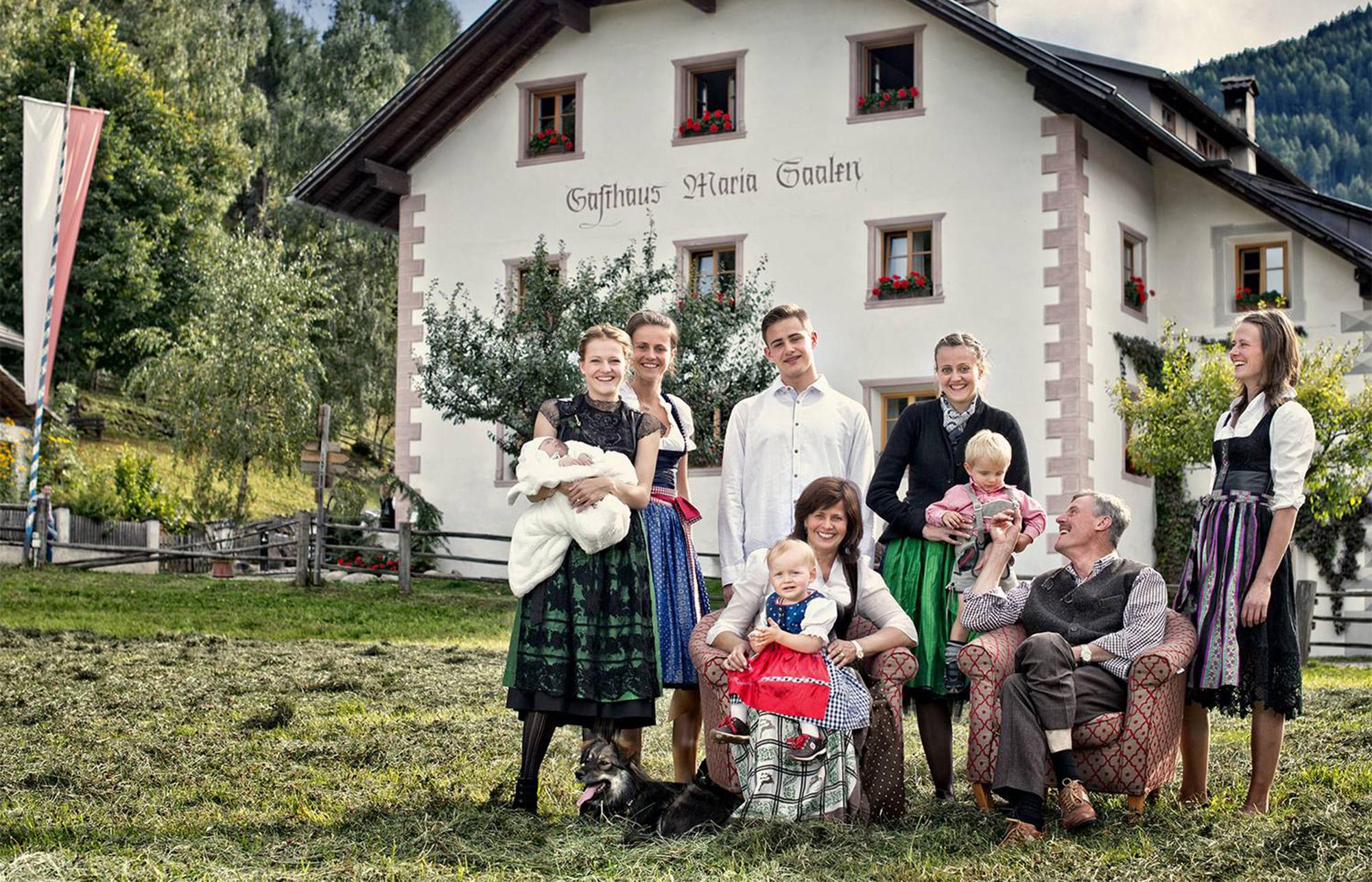 Familie Tauber vom Saalerwirt