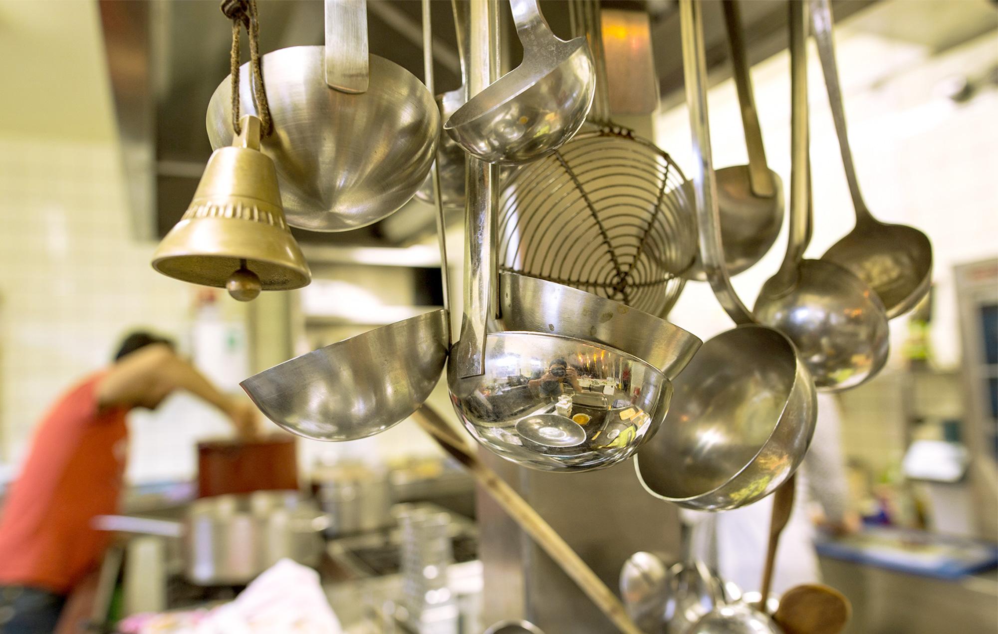 Die Küche des Grandhotel Cosmopolis / Fotocredits: C. Frabauke