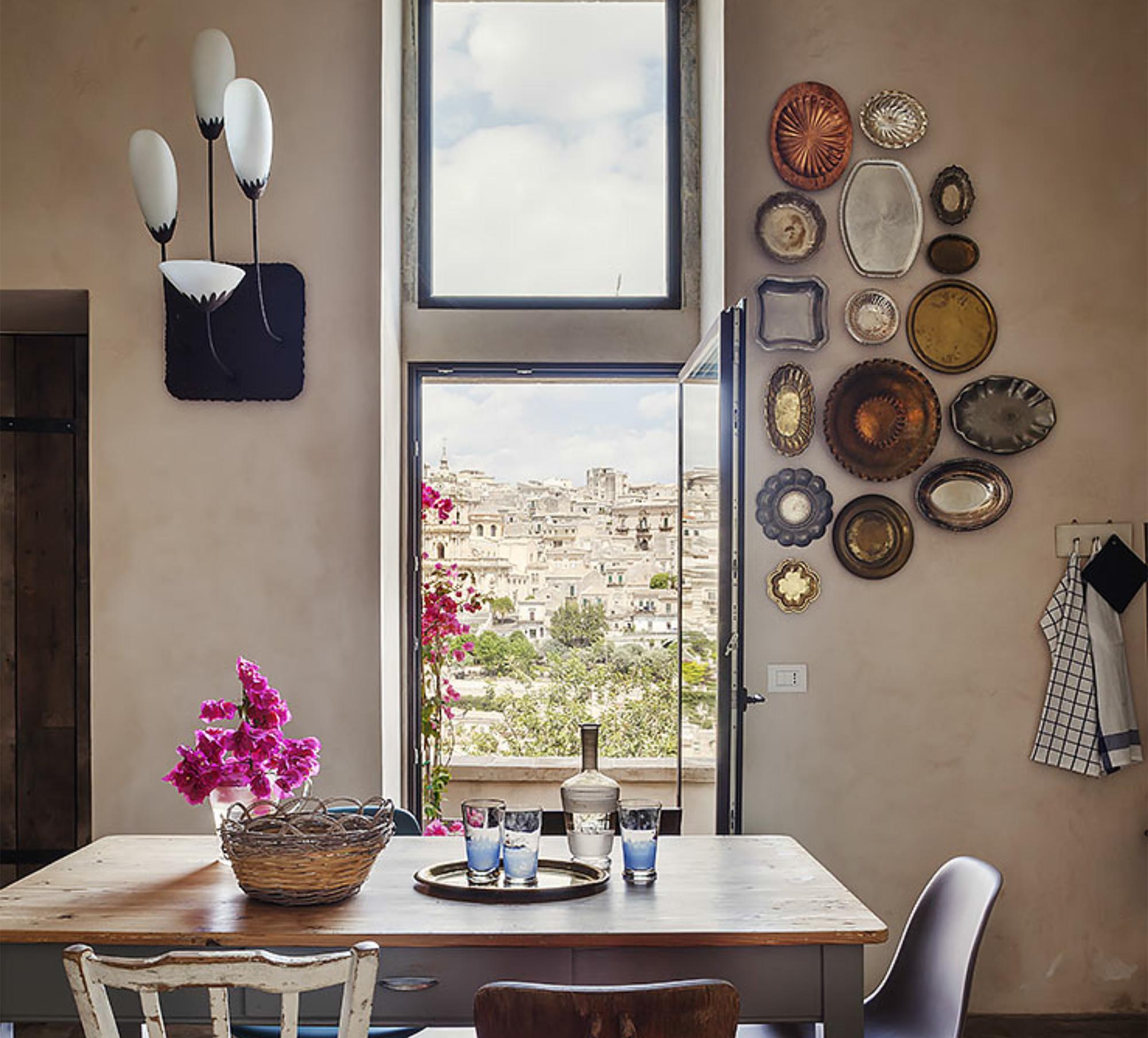 Blick von der Küche der Casa Talía