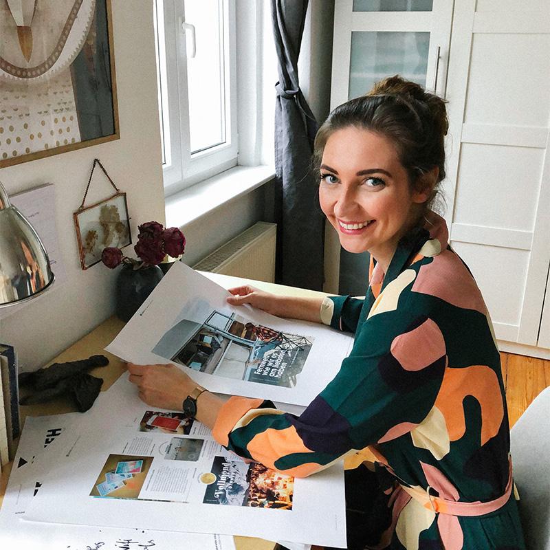 Elisaveta Schadrin Esse ist Autorin des Reiseführers Dasselbe in Grün