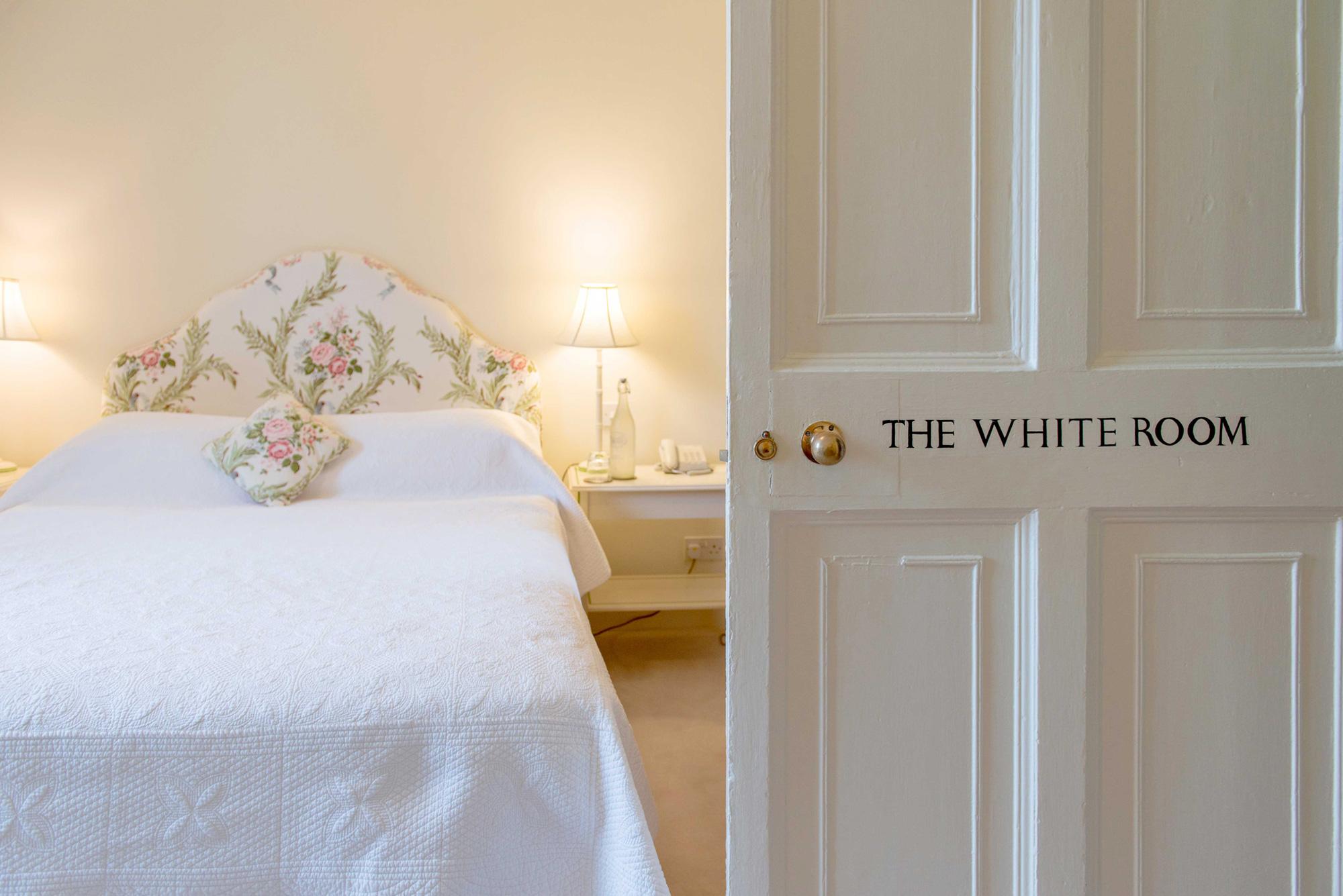 Das weiße Zimmer im Ballymaloe