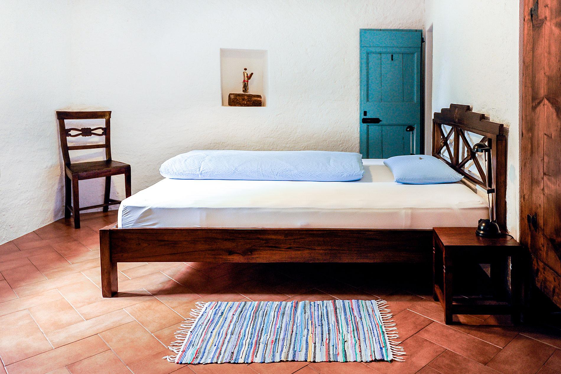 Ein Blick ins Zimmer von der Casa Santo Stefano