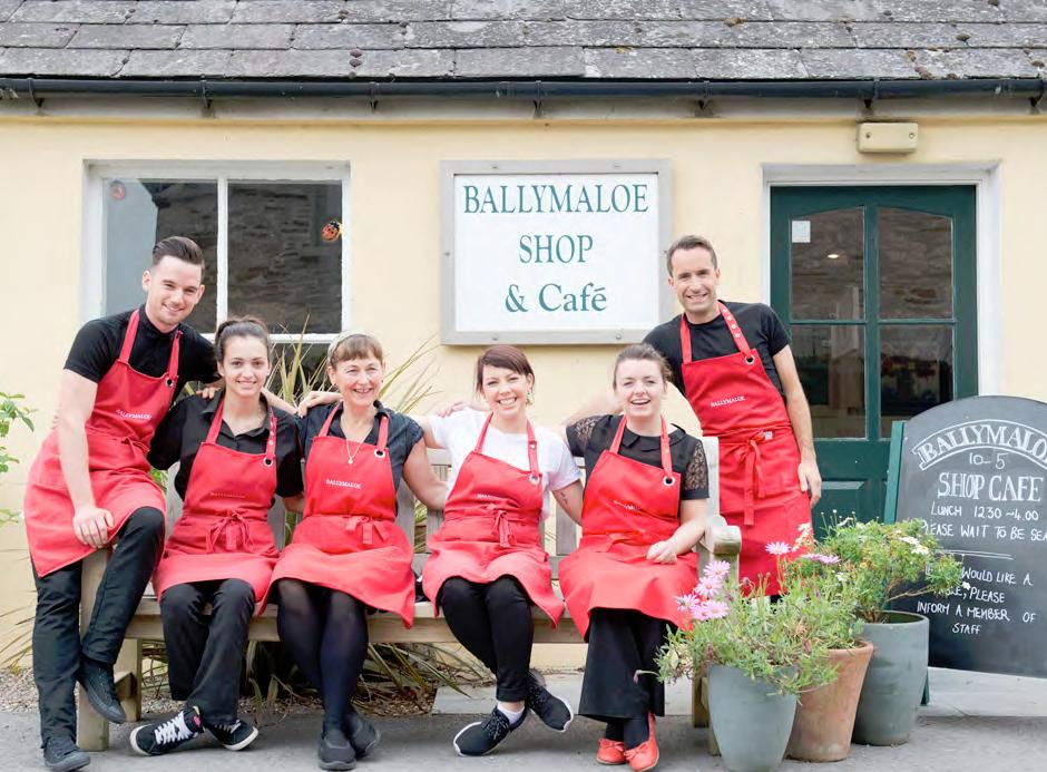 Das Ballymaloe Team vom Shop