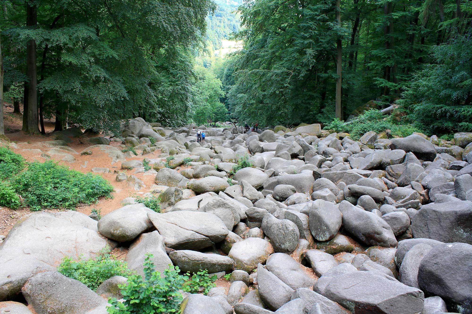 Das Felsenmeer in Hessen / Fotocredits: Ludwig Bickel