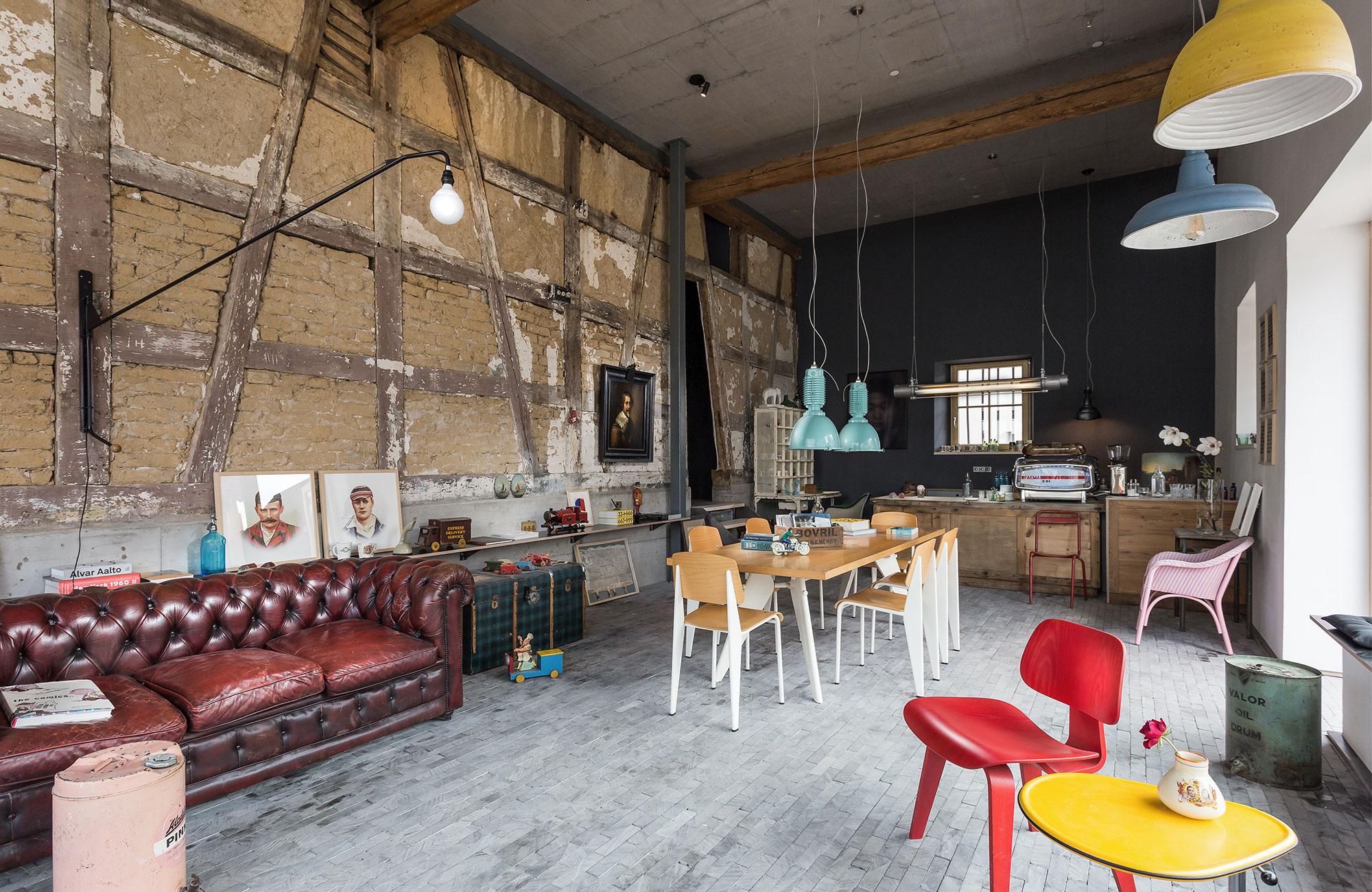 Das Friz BnB überzeugt ebenfalls mit einem tollen Interior Konzept
