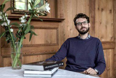 Martin ist der Gastgeber vom Ottmanngut