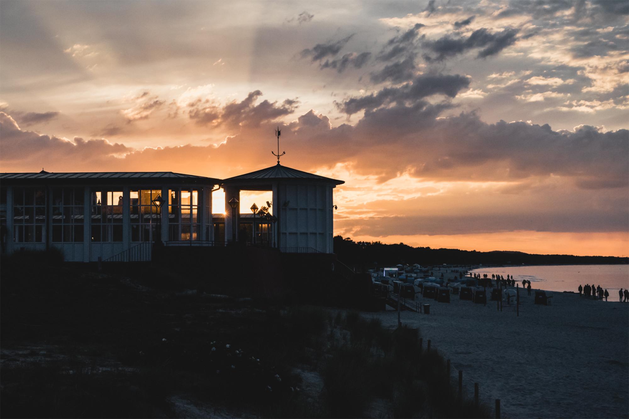 Sonnenuntergänge am Meer sind immer wieder etwas ganz Besonderes