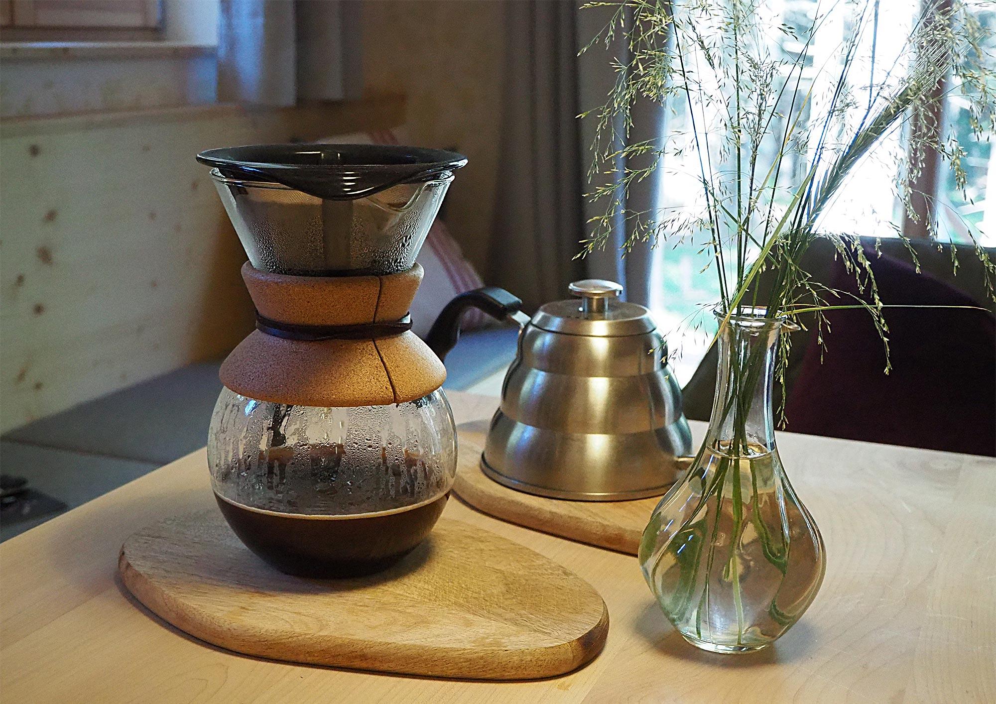 Köstlicher Kaffee darf am Morgen auch nicht fehlen
