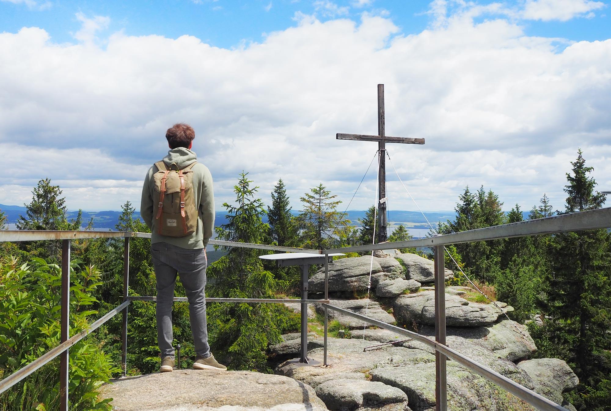 In der Nebensaison hat man sonst gut besuchte Aussichtspunkte gerne mal für sich