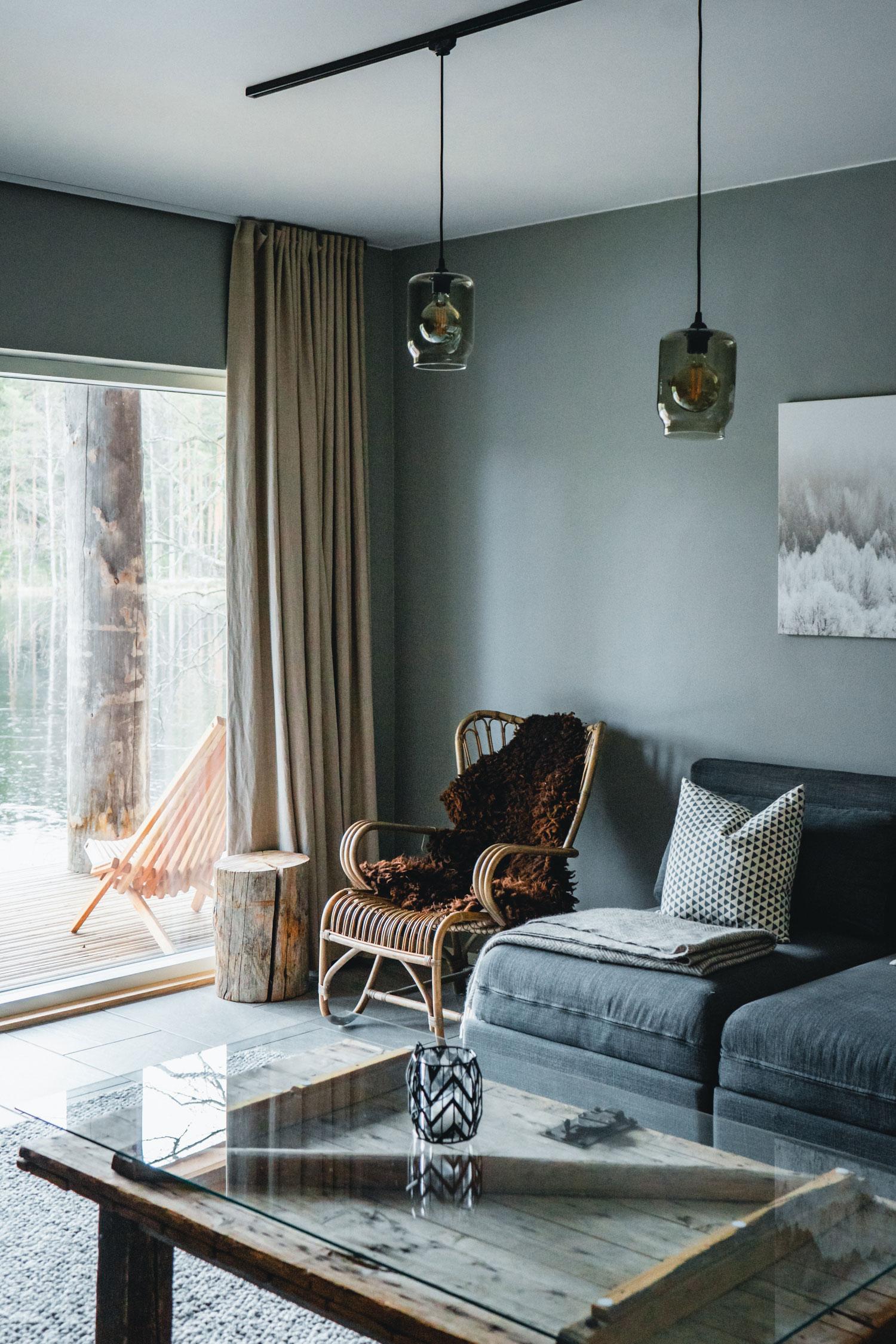 In den Häusern selbst herrscht eine angenehme Atmosphäre