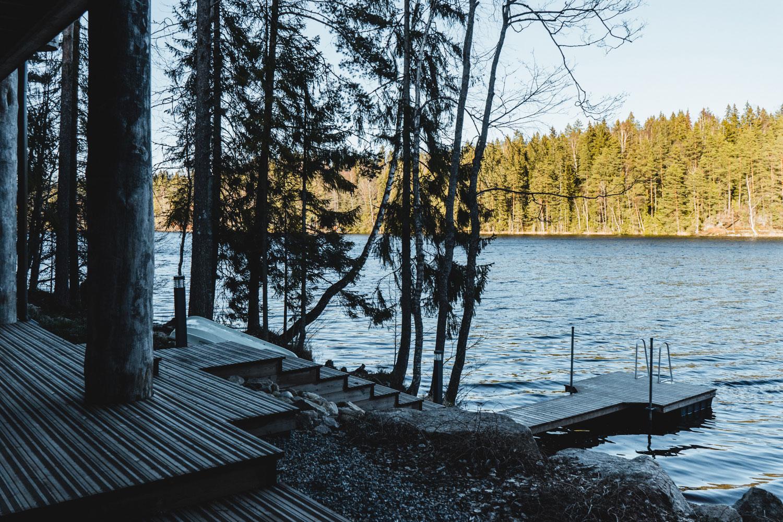 Der See vor der Haustür lädt ganzjährig zu Aktivitäten ein