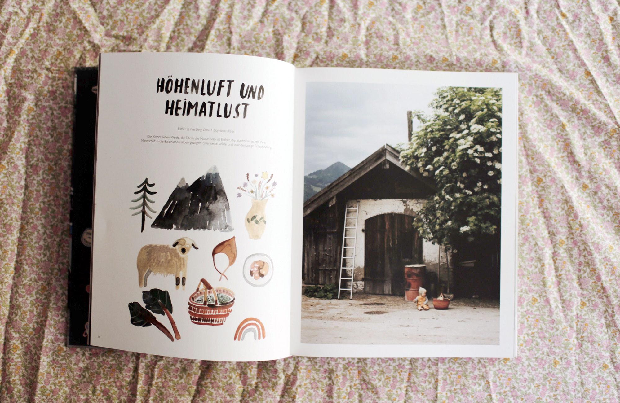 Einblick ins Buch von Tiny Adventures