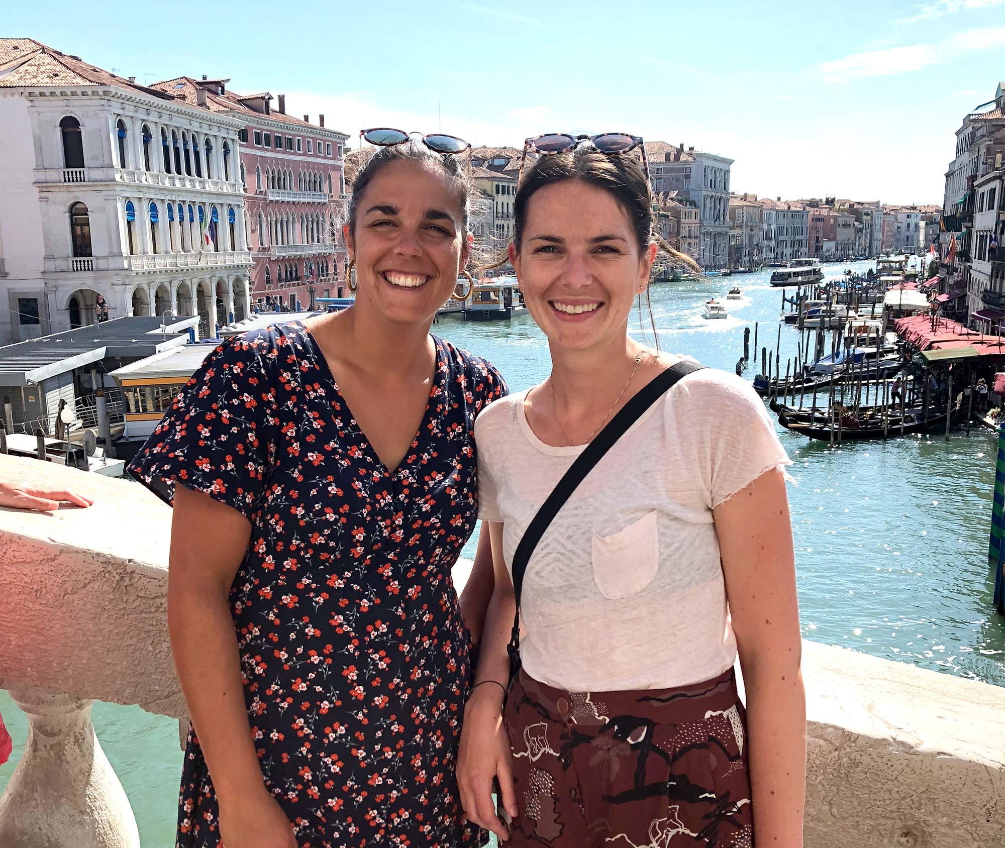 In Venedig angekommen