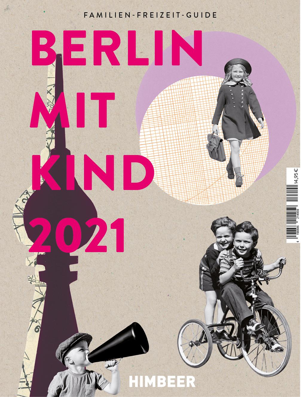 Das Cover Berlin mit Kind 2021 vom HIMBEER Verlag