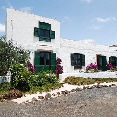 Die Casa Caldera von Außen
