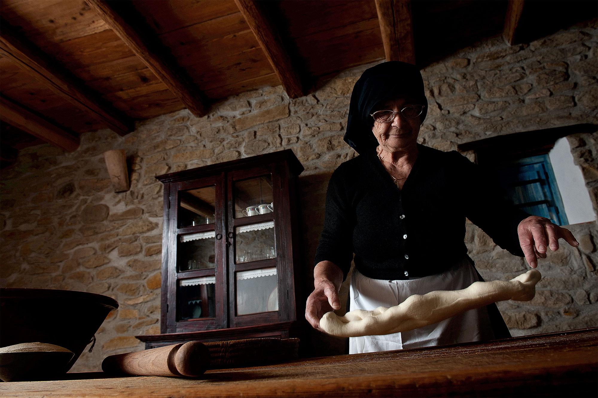 Im Domu Antiga auf Sardinien werden die frischen Zutaten direkt verarbeitet