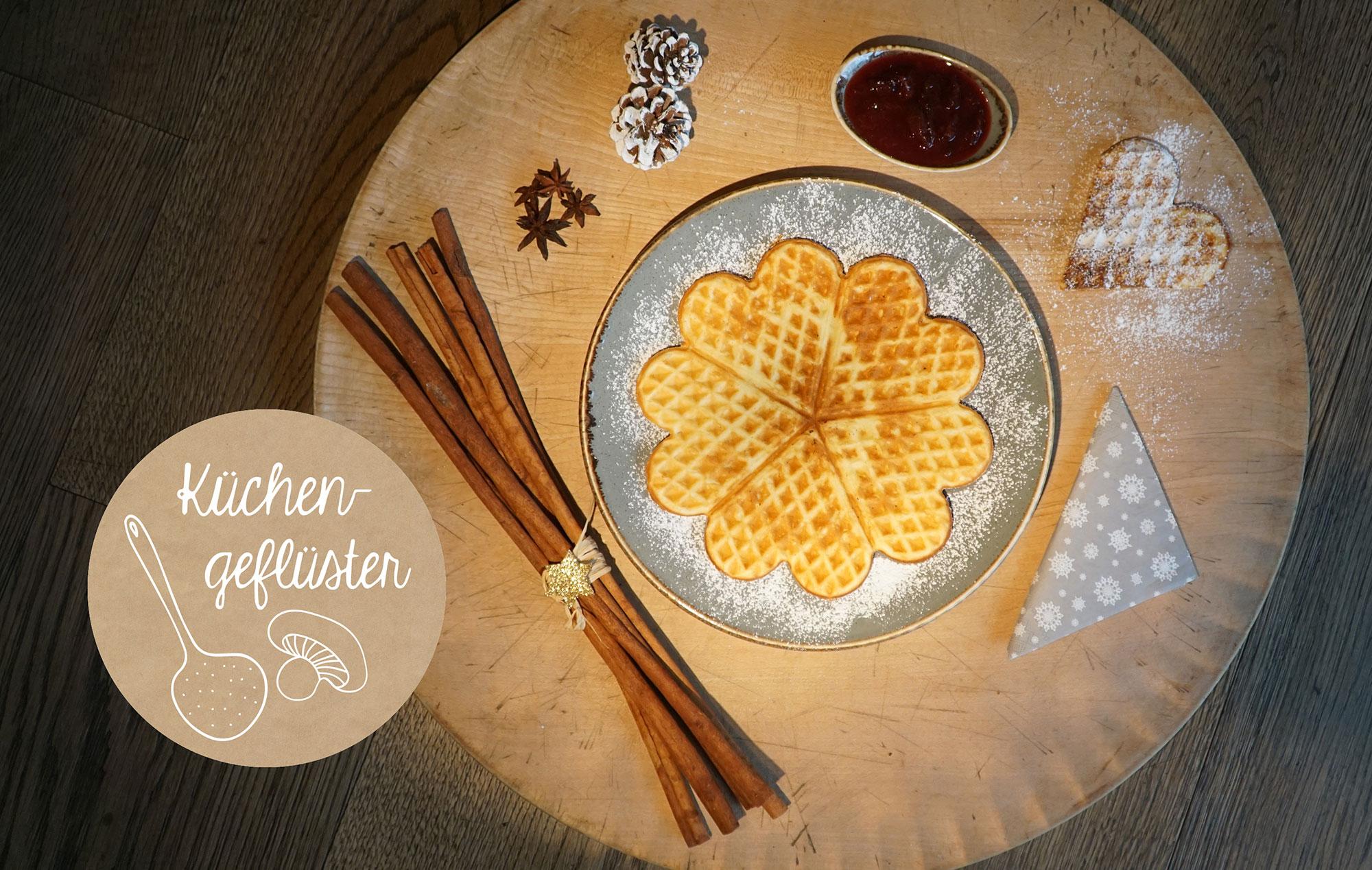 Opener buttermilk waffles