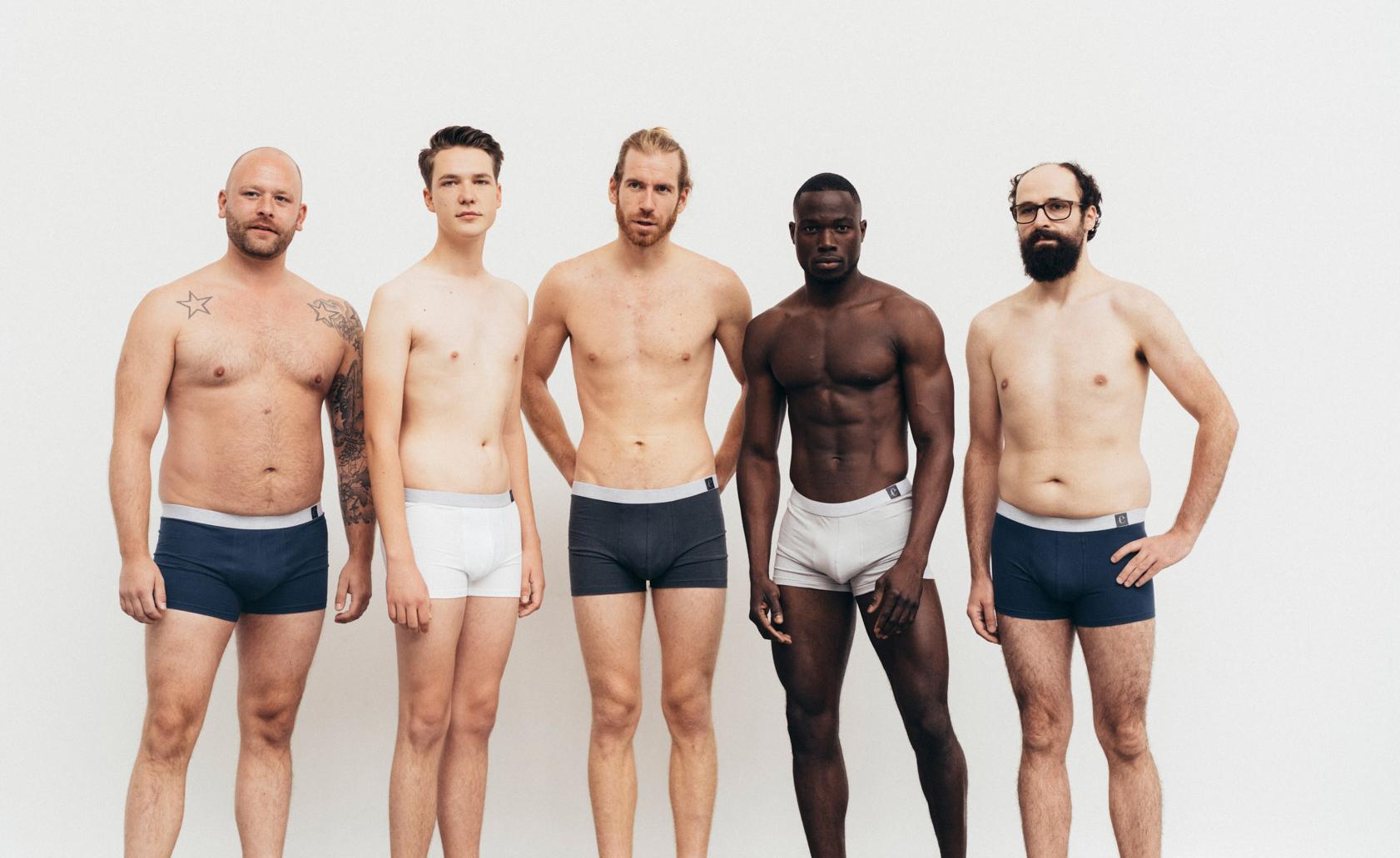 erlich textil produziert auch nachhaltige Unterwäsche für Männer