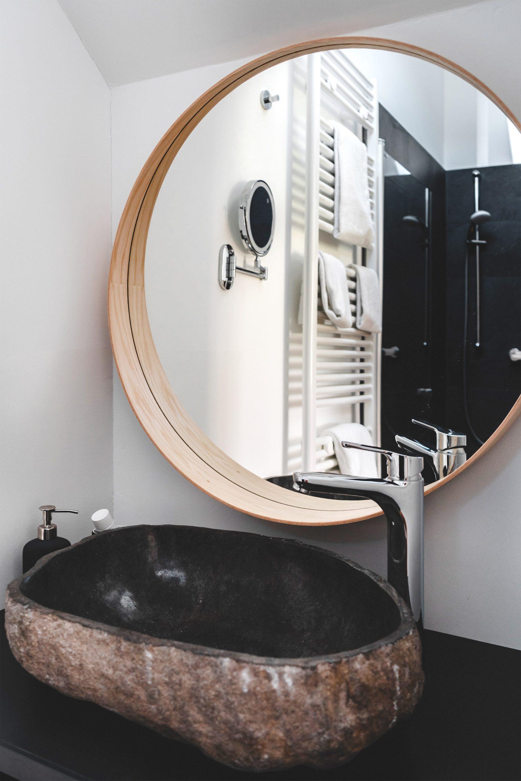 Nahaufnahme im Badezimmer