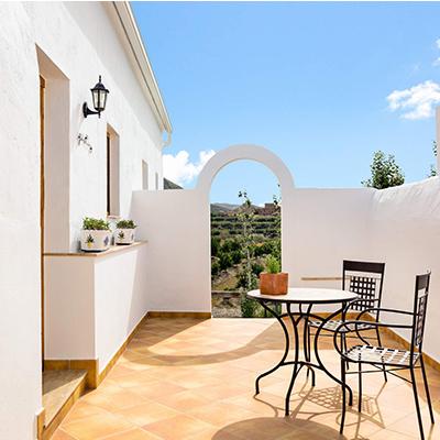 Die andalusische Sonne im Cortijo El Sarmiento genießen