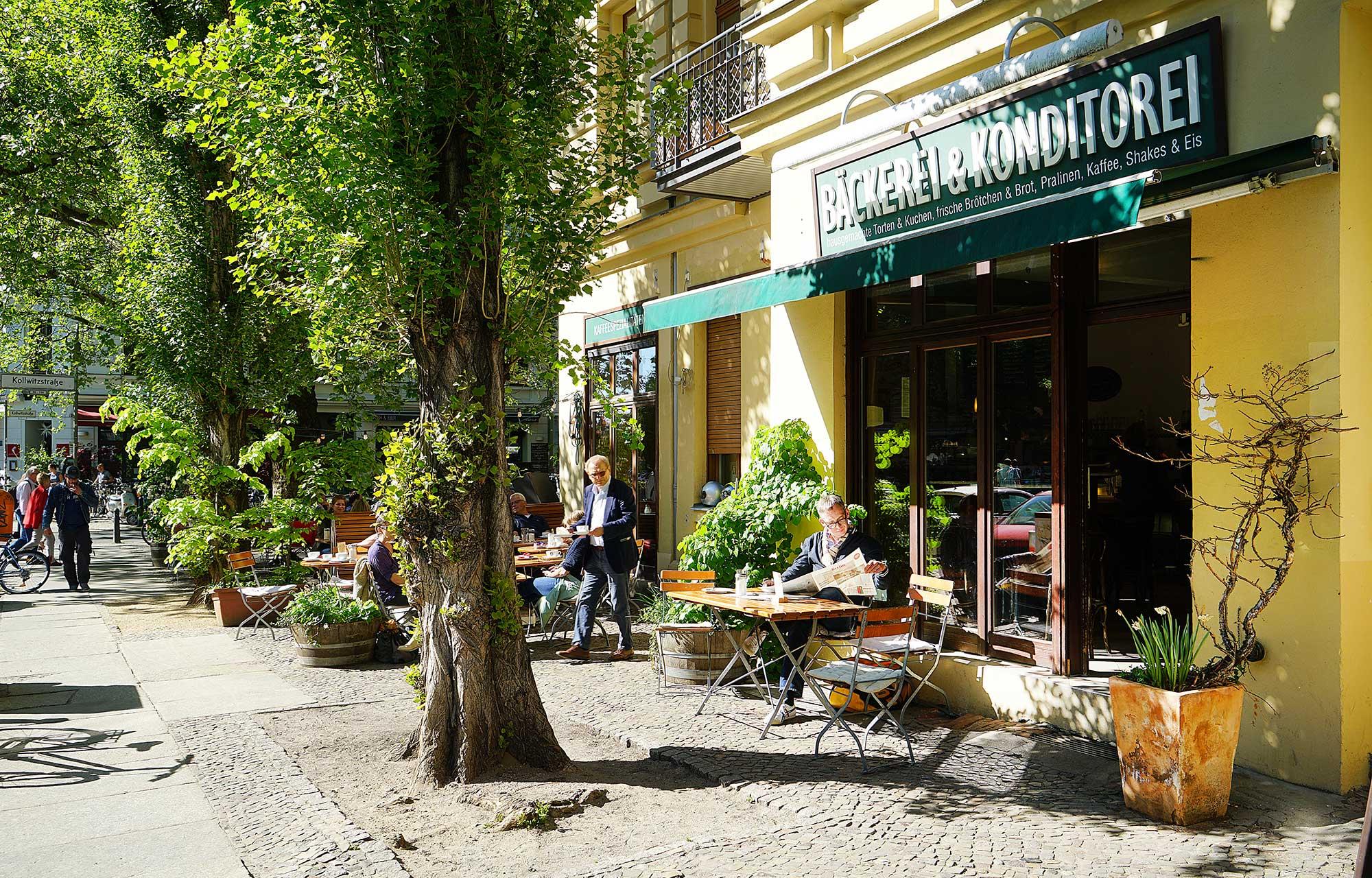 Einen Spaziergang durch einen der schönen Kieze in Berlin machen