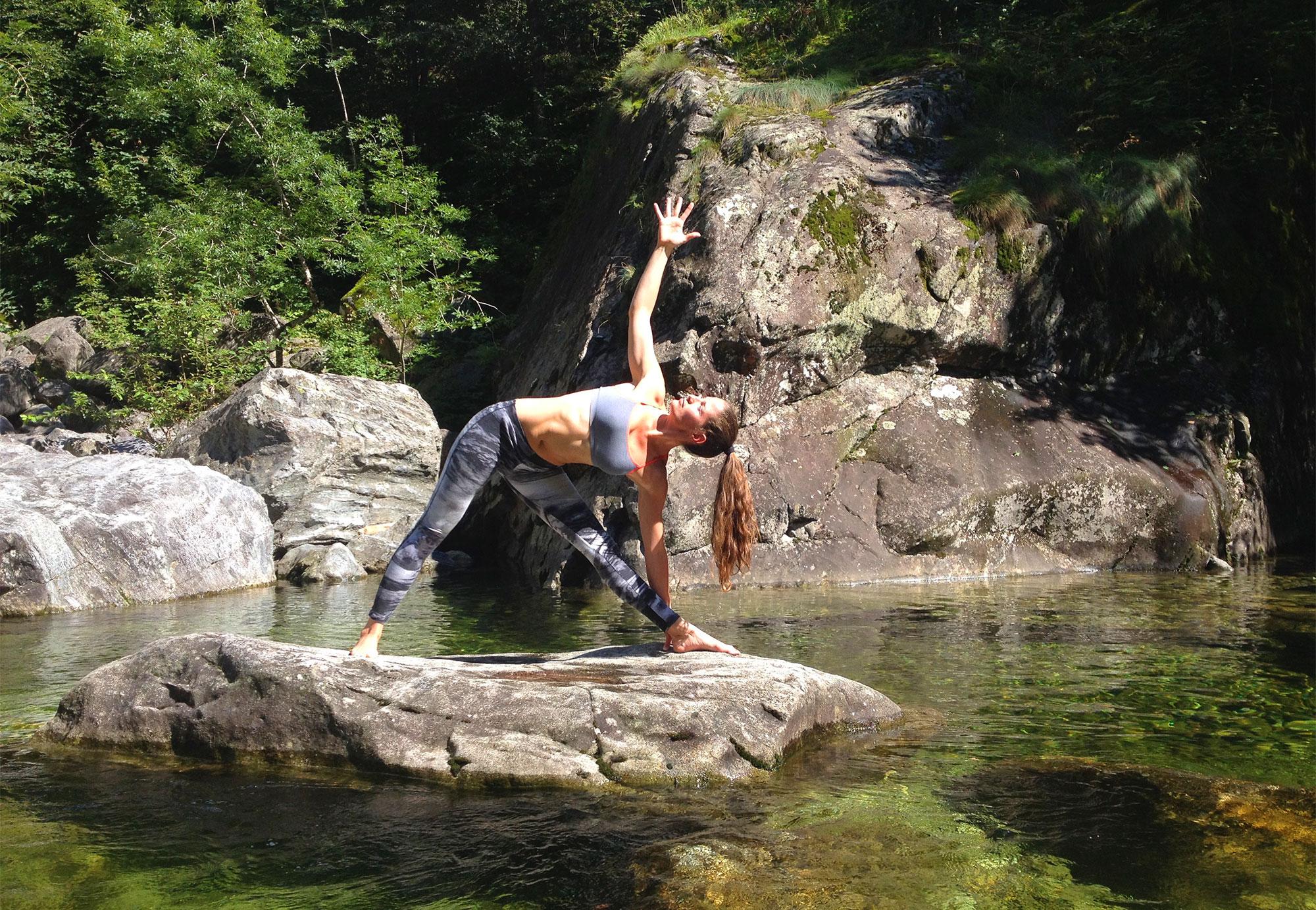 Ebenfalls im Jahresprogramm der Casa: Yoga und SUP Yoga