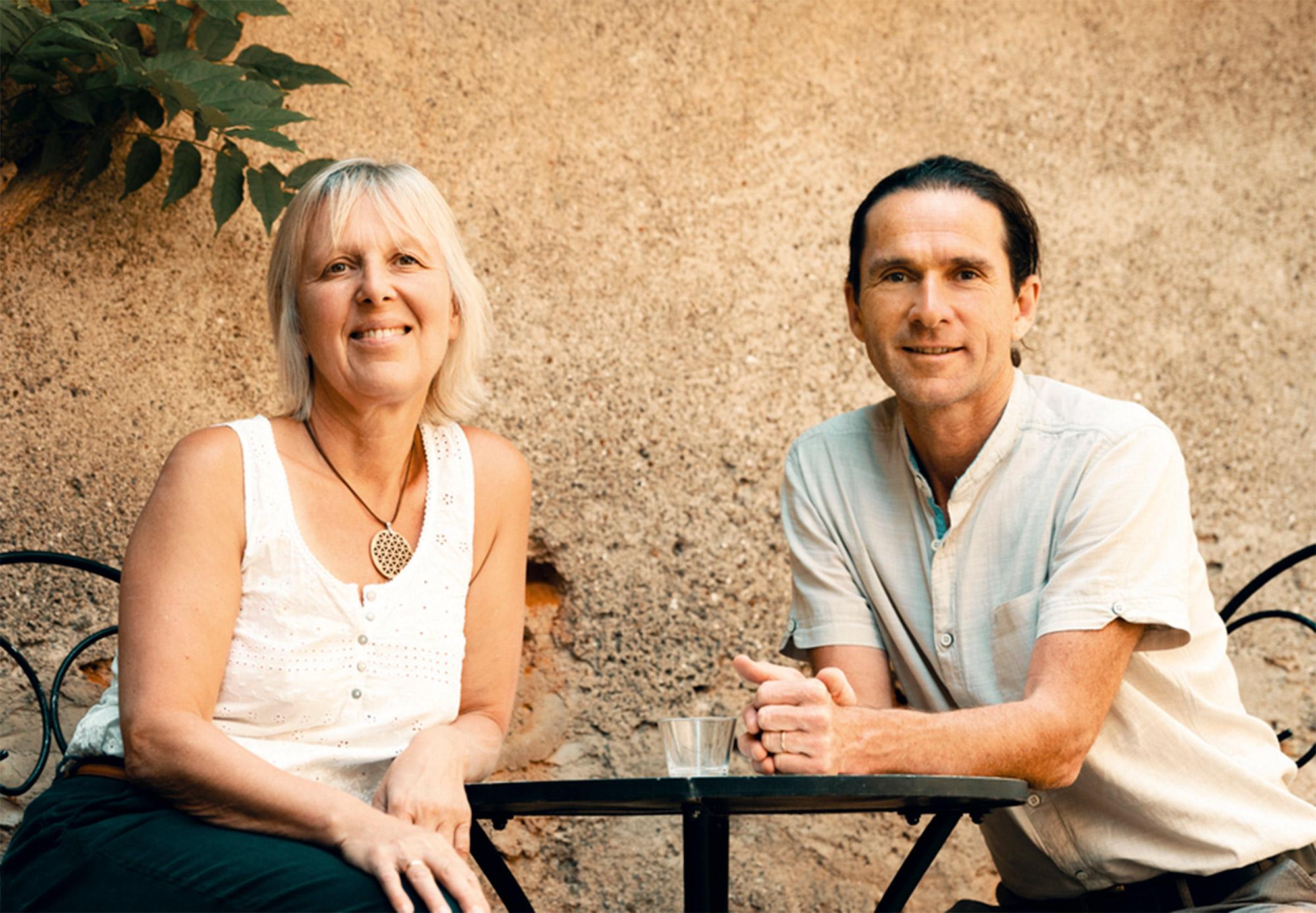 Angeli und Christian sind die Gastgeber der Casa Santo Stefano