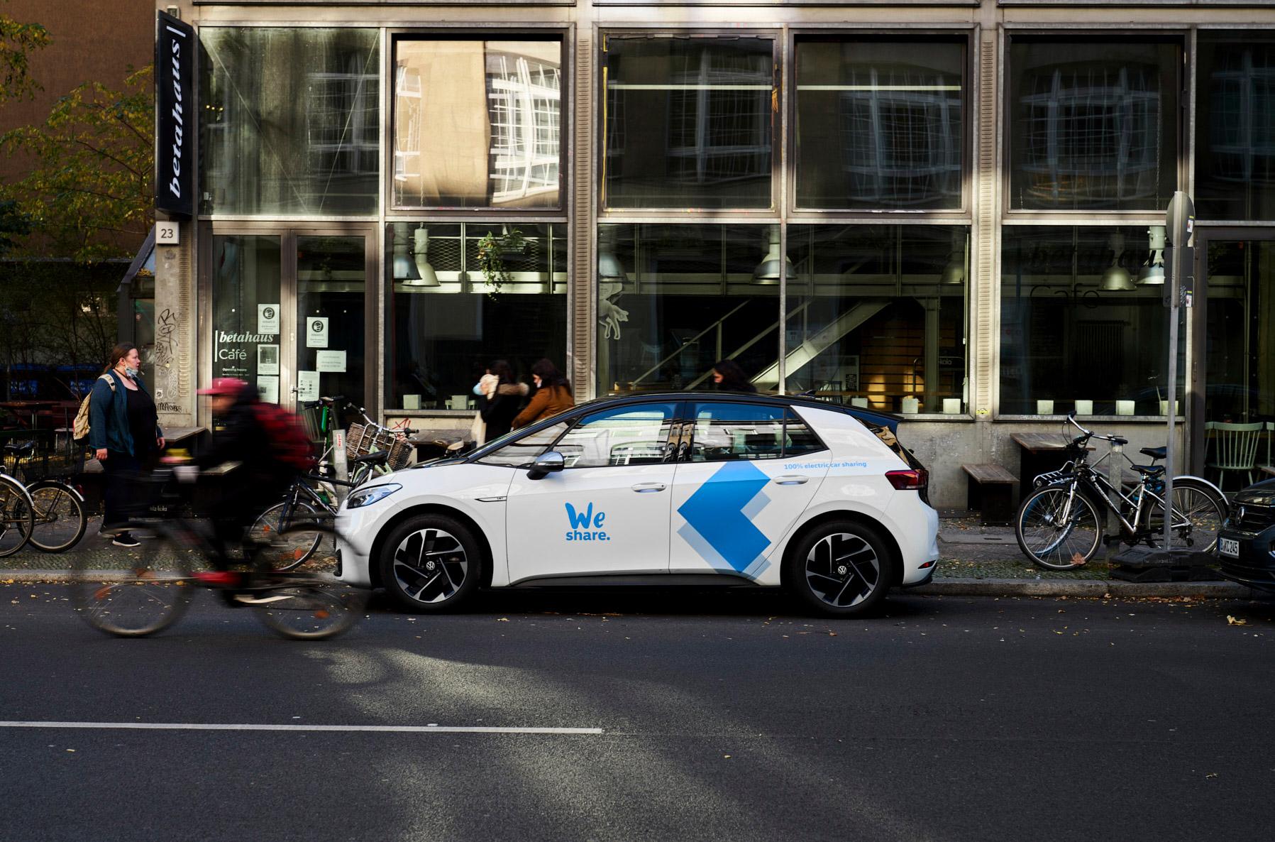Exklusiv und emissionsfrei durch Berlin mit den Elektroautos von weshare