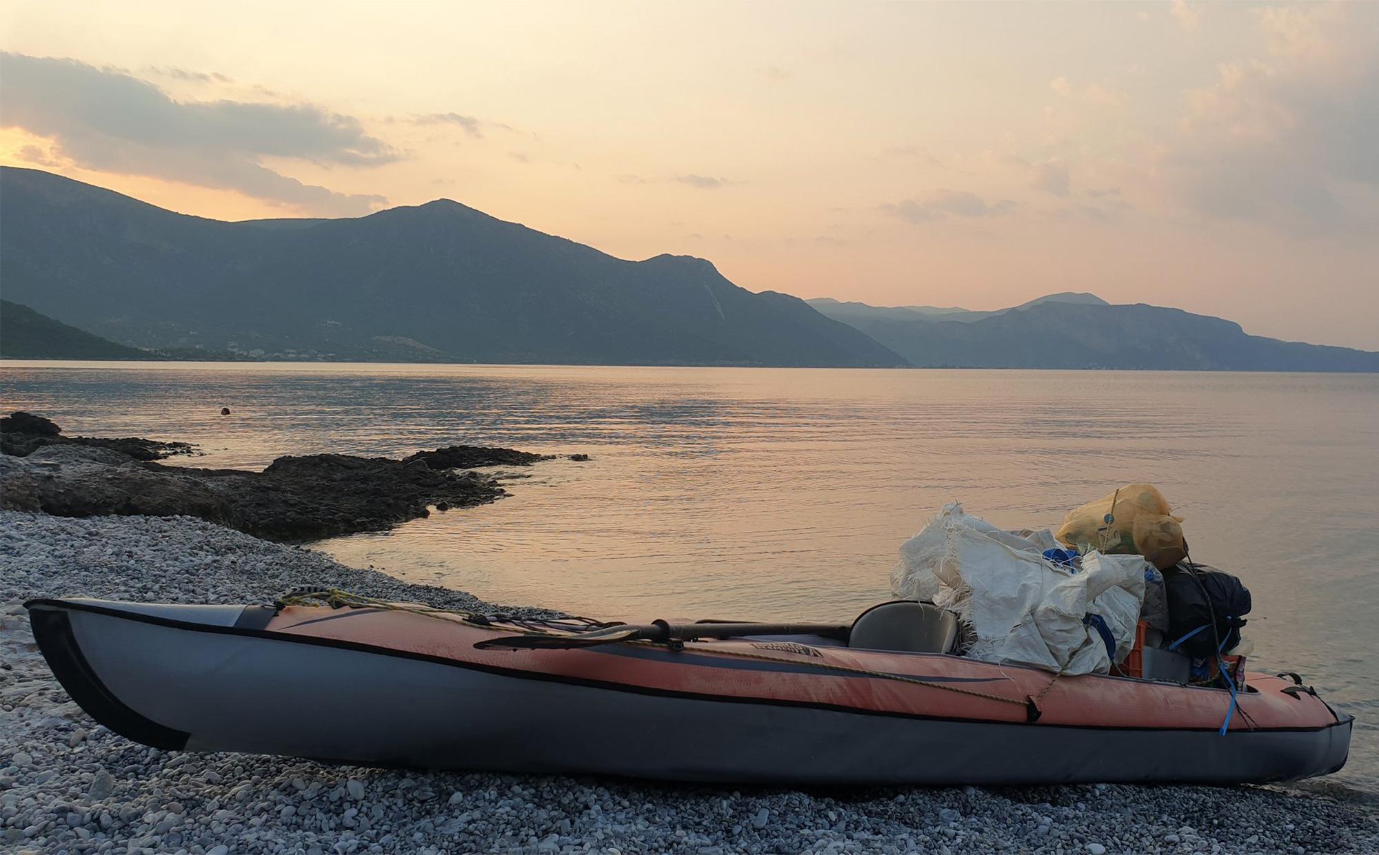 Impressionen von einem Beach Cleanup in Griechenland