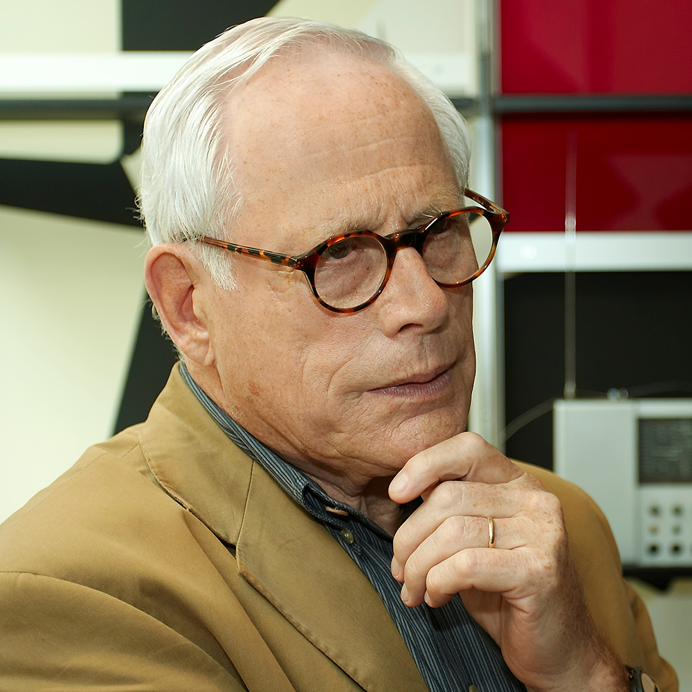 Industriedesigner Dieter Rams // Fotocredits: Vitsoe at English Wikipedia via Wikimedia (CC BY-SA 3.0)