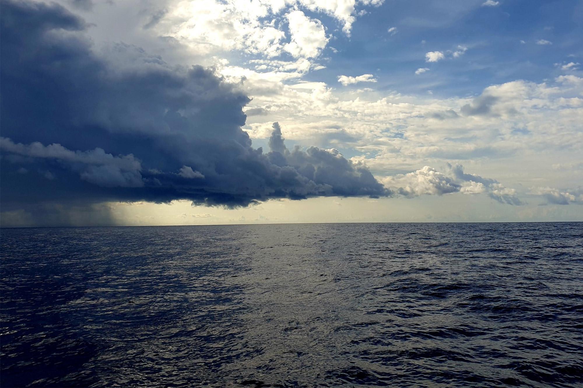 Die Wetterlage auf dem Mittelmeer kann sich jederzeit ändern