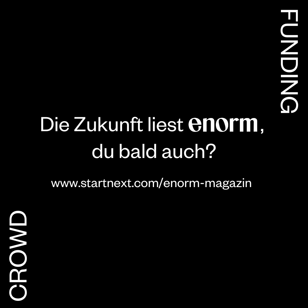 Mach mit beim enorm Crowdfunding!