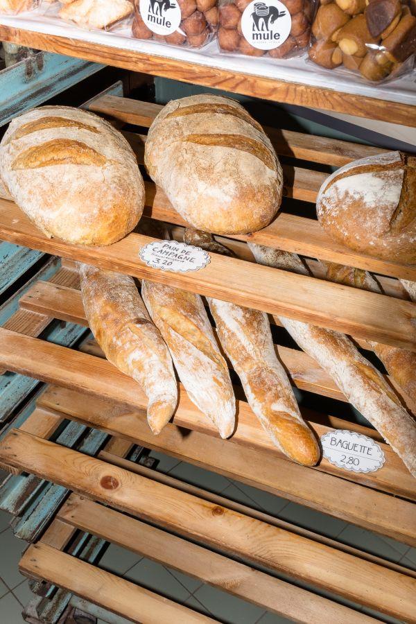 Brot von der Backstube