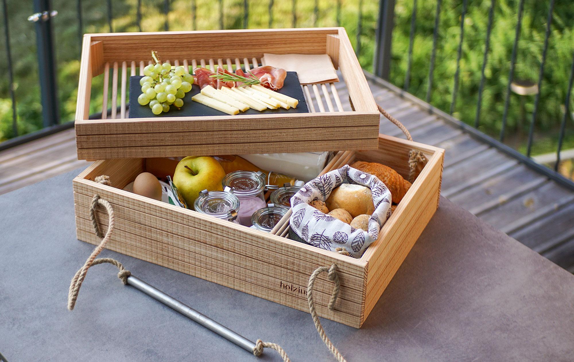 Die nachhaltige Frühstückskreation der Cirna Lodges