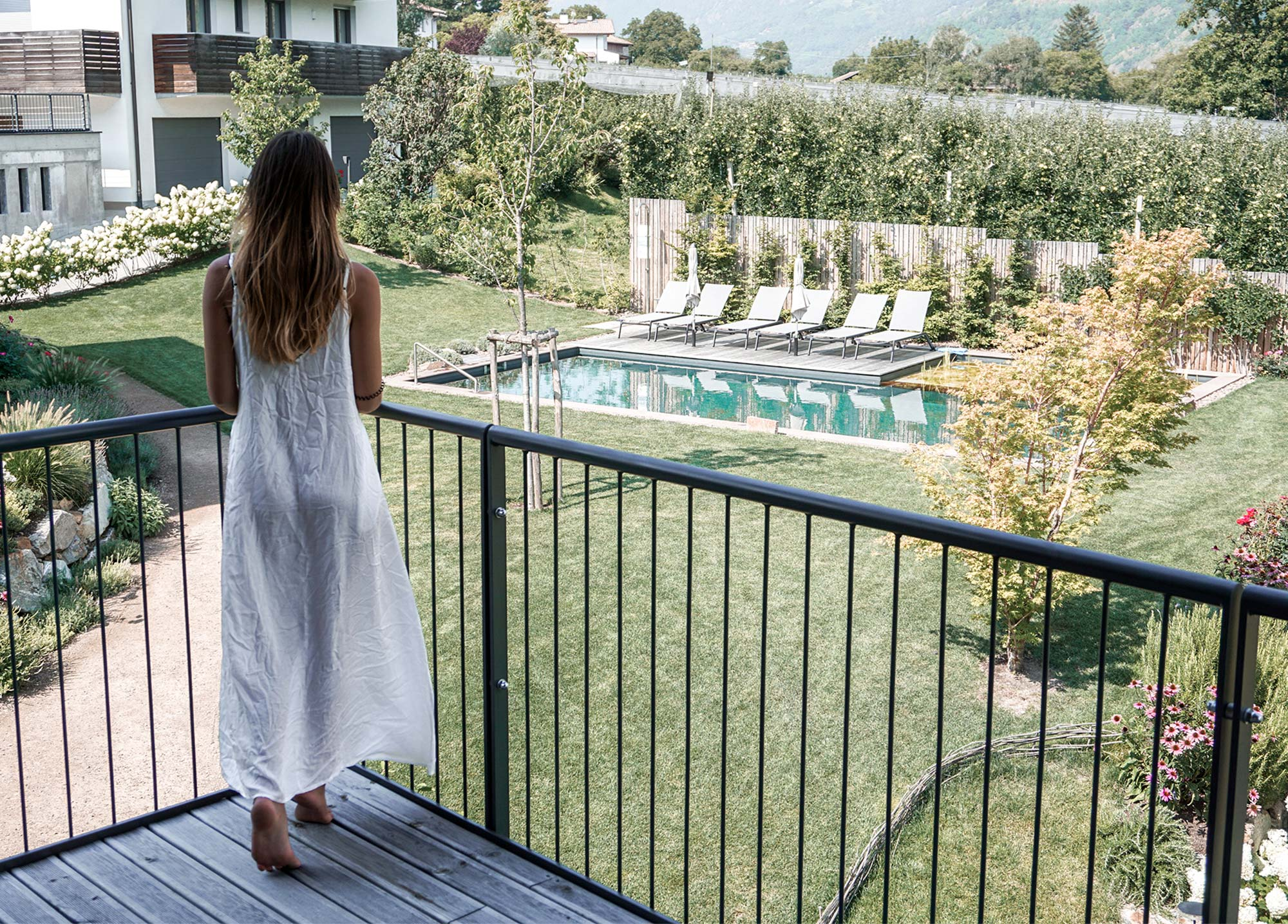 Der Ausblick von den Cirna Luxury Lodges