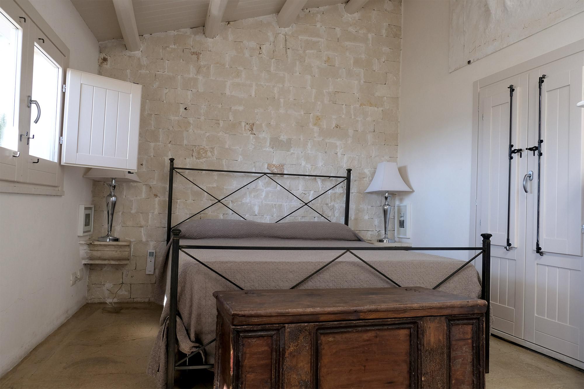 Das Schlafzimmer oben