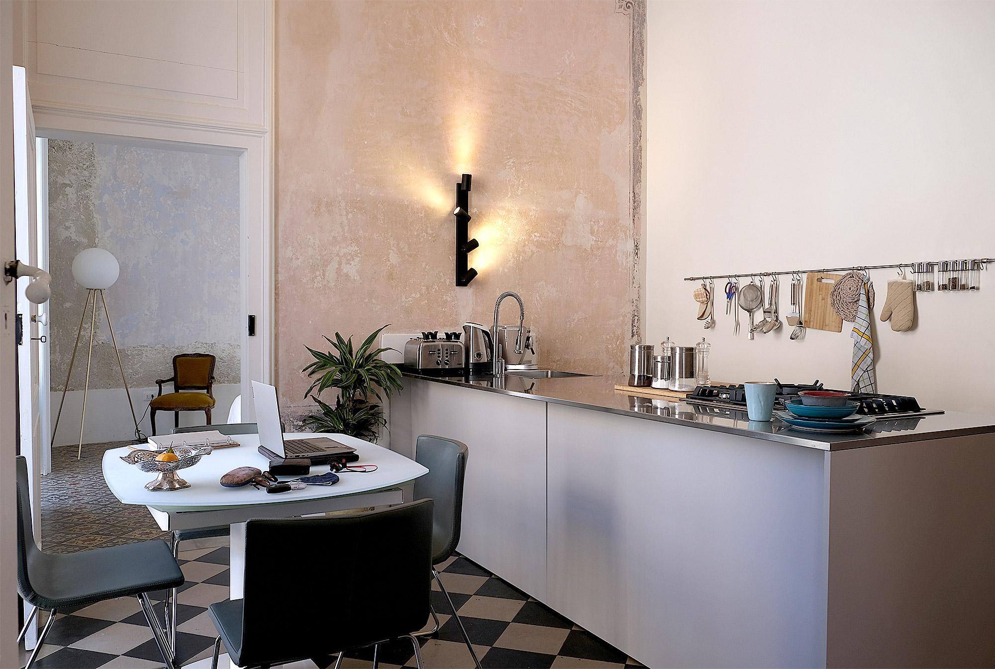 Die Küche in der Casa Sabir ist toll ausgestattet