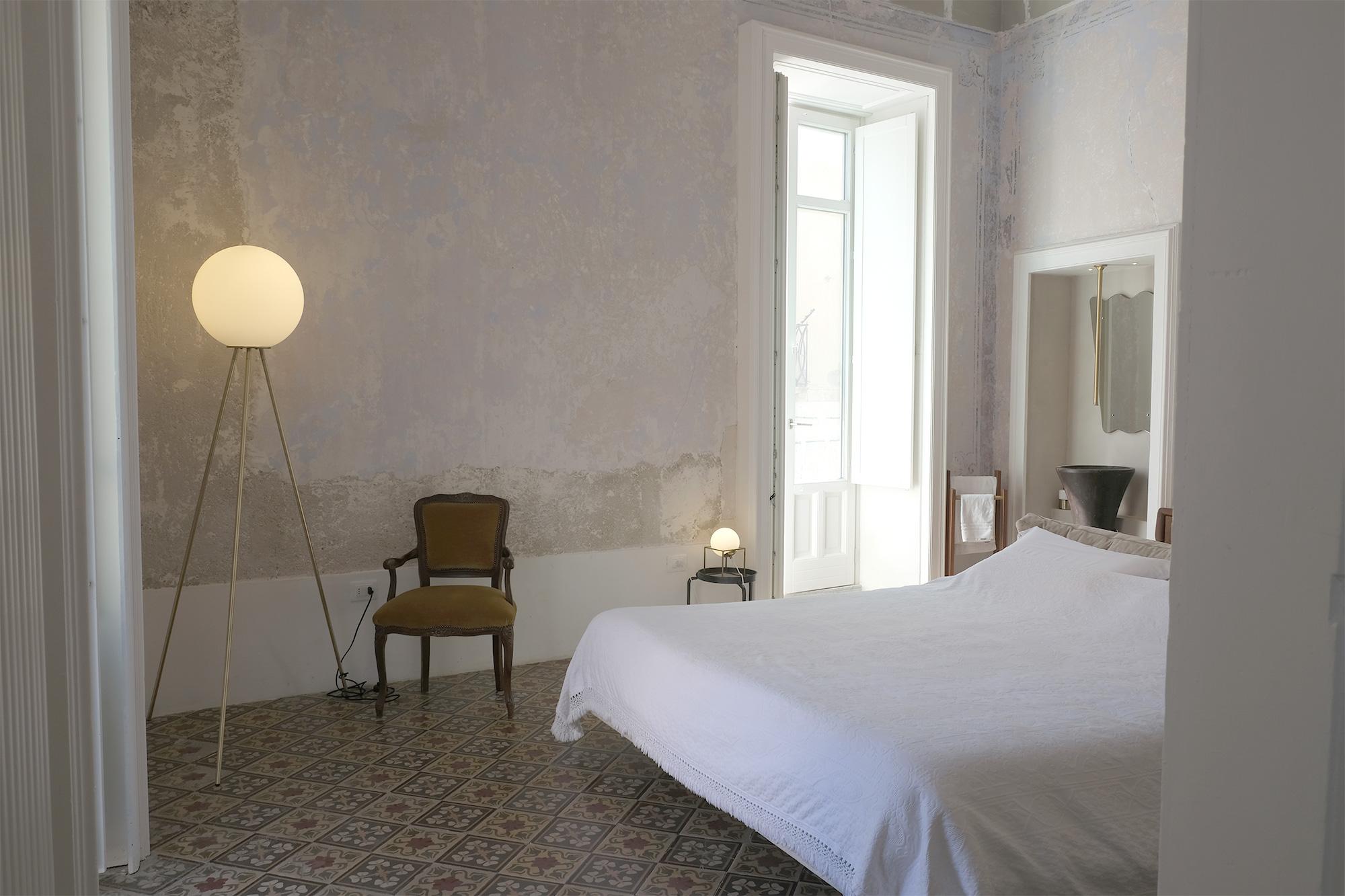 Blick ins Schlafzimmer der Casa Sabir