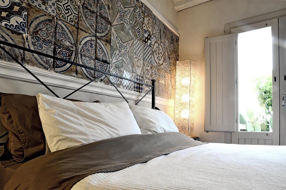 Schlafzimmer der Casa Kimiyà