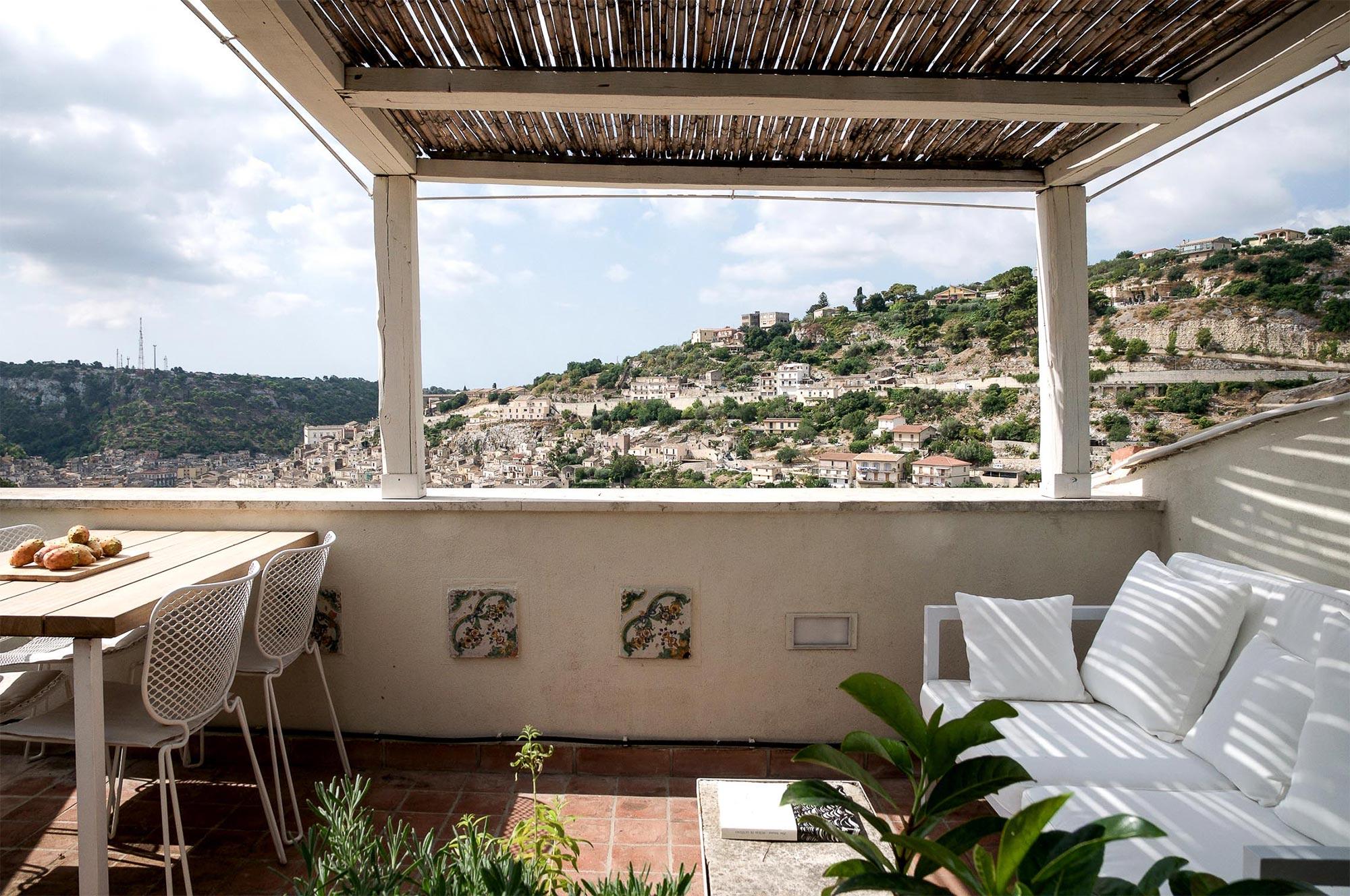 Entspannte Stunden auf der Dachterrasse