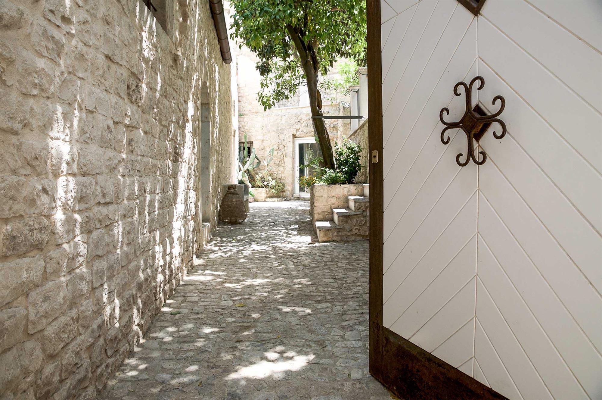 Eingang der Residenza Hortus