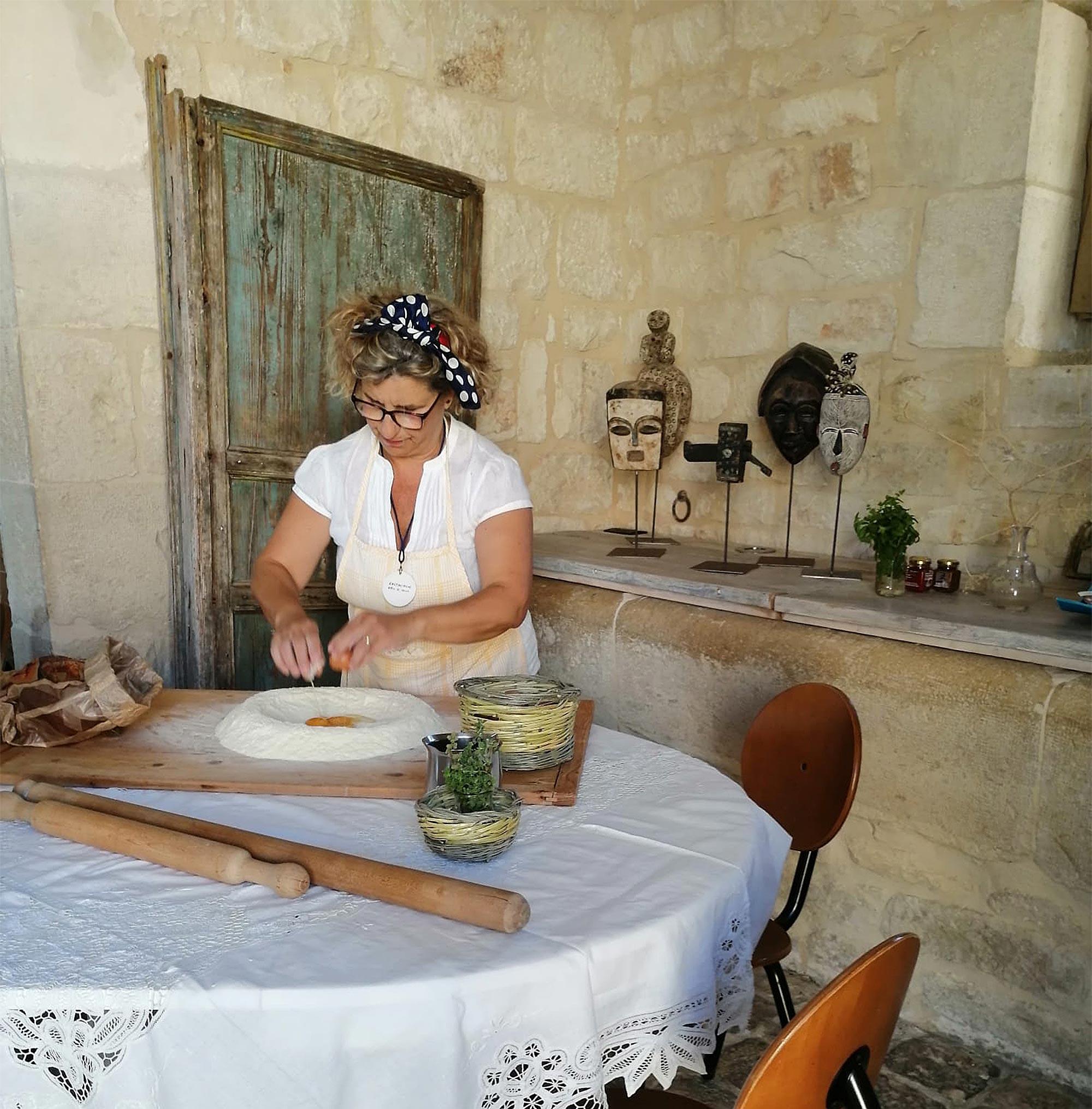 Vorbereitung des Ravioliteigs