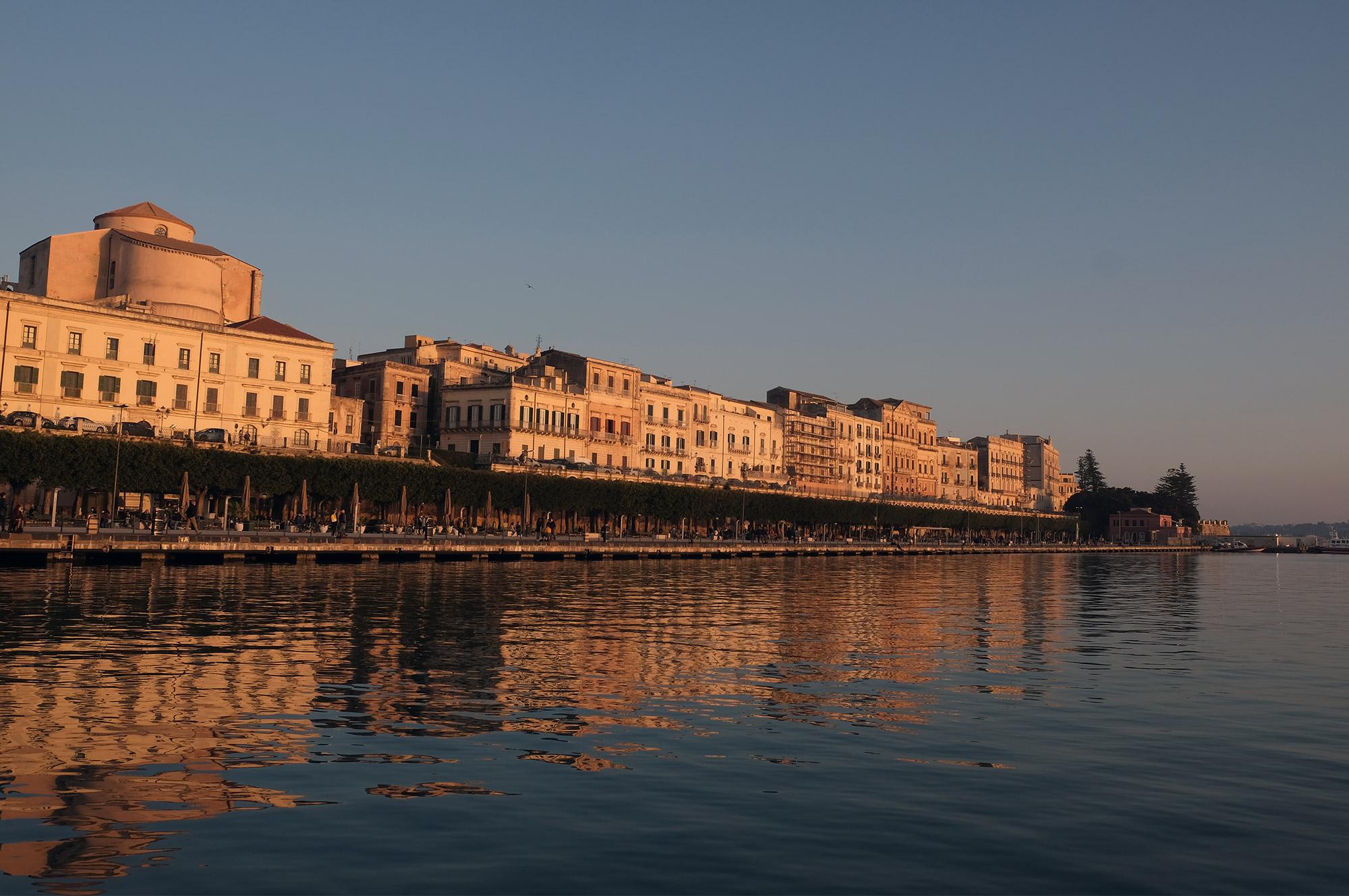 Seafront von Syrakus