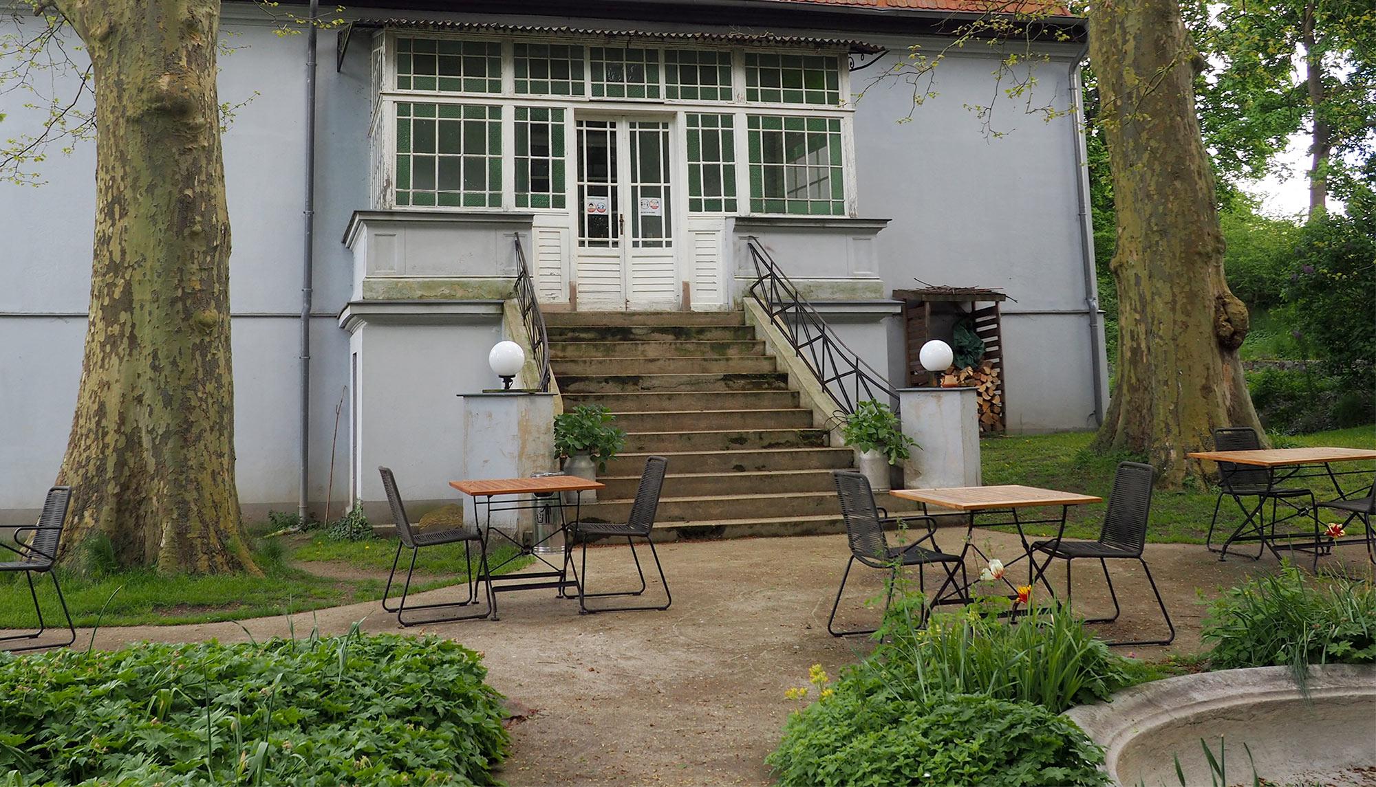 Der Eingangsbereich vom Gut Boltenhof