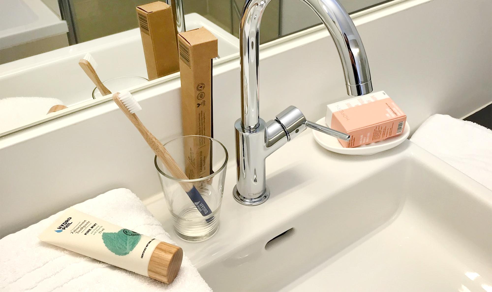 Gut und nachhaltig ausgestattet im Badezimmer
