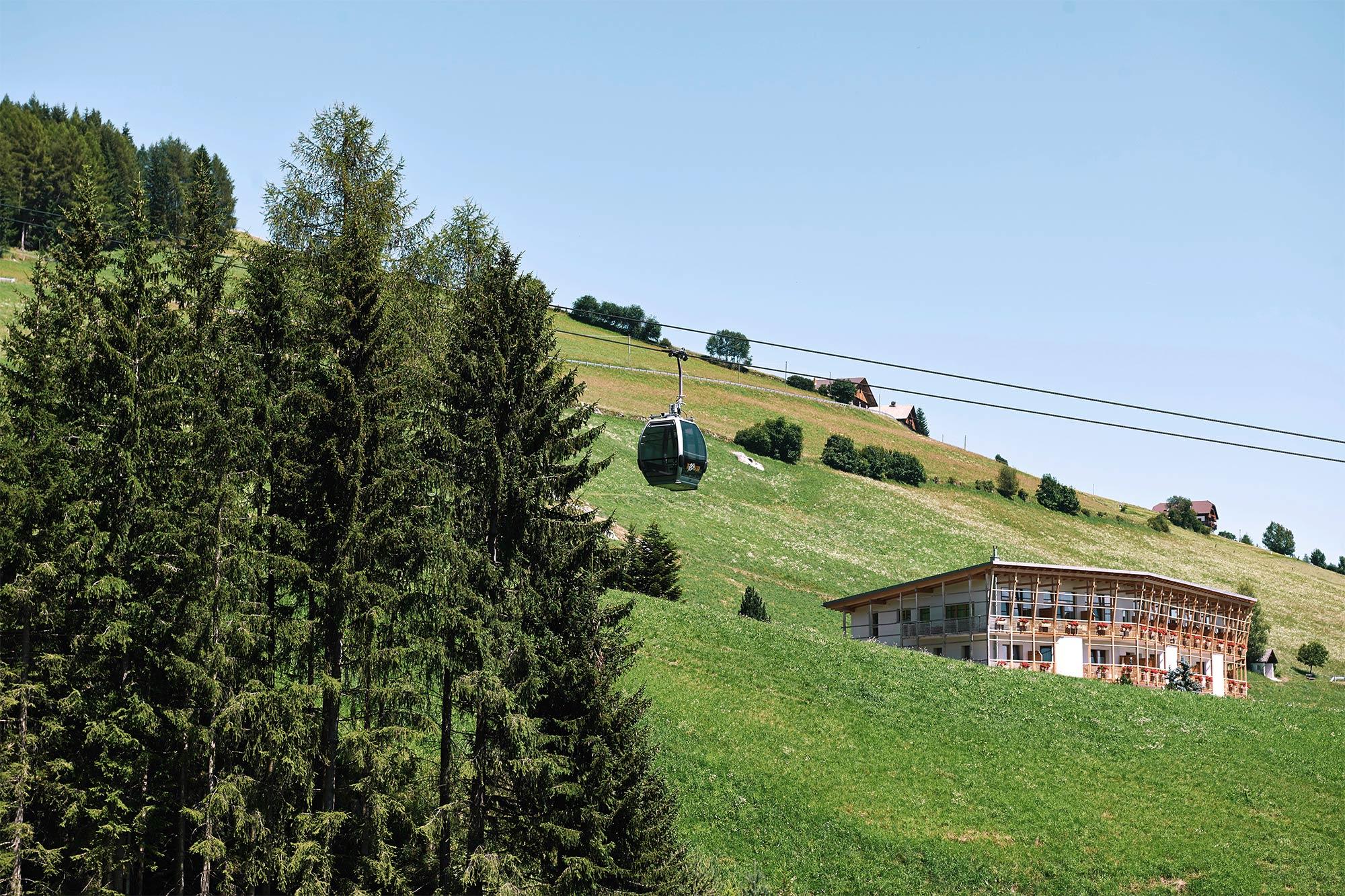 Vis à vis der Dolomiten