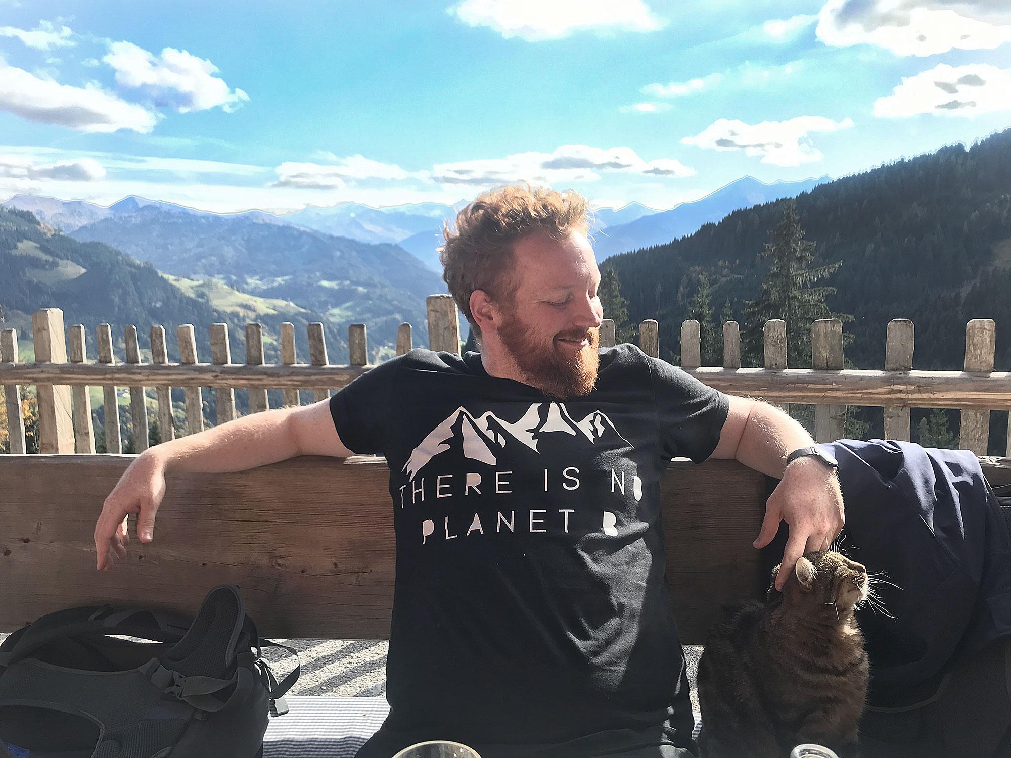 Dom ist der andere Co-Gründer der neuen Reiseplattform