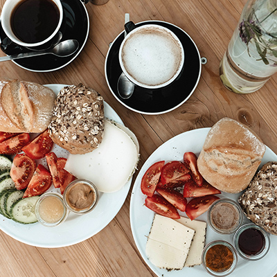 Have a good and delicious breakfast at Destinature