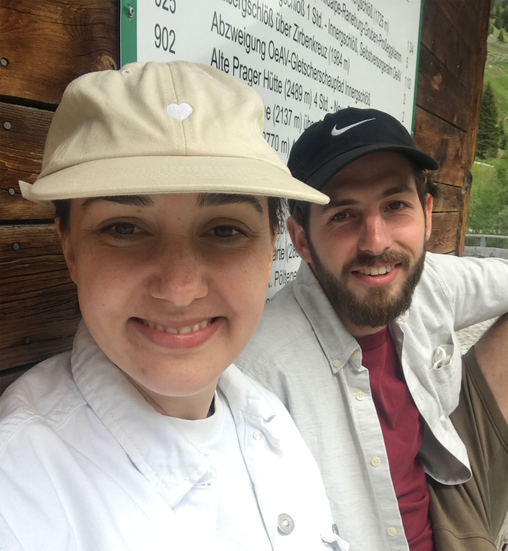Cécile und Kai in Tirol
